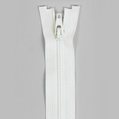 Düz Fermuar, Kırlent-Çanta-Elbise Fermuarı, 40-50-60cm Kırık Beyaz