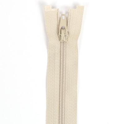 Düz Fermuar, Kırlent-Çanta-Elbise Fermuarı, 40-50-60cm Krem