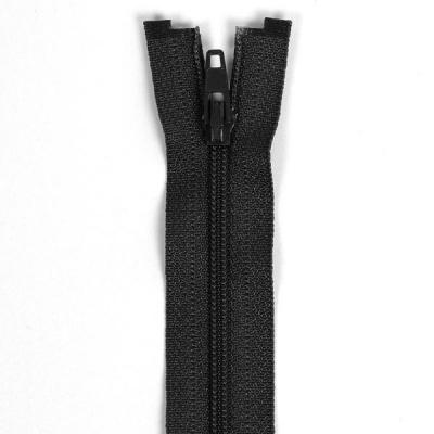 Düz Fermuar, Kırlent-Çanta-Elbise Fermuarı, 40-50-60cm Siyah