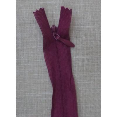 Opti Gizli Elbise Fermuarı 60cm Bordo