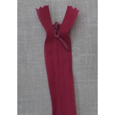 Opti Gizli Elbise Fermuarı 60cm Kırmızı