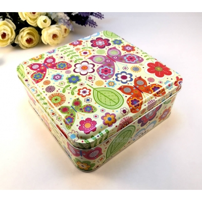 metallic sewing box