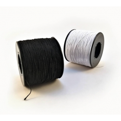 Big Spool Elastic (White)