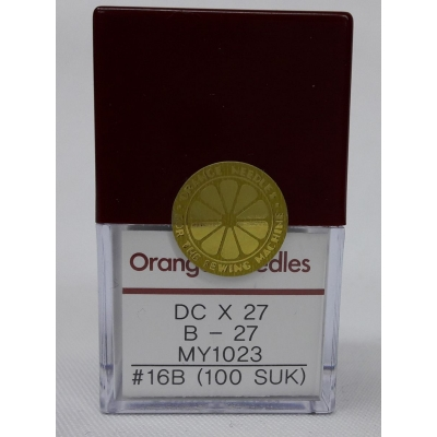 Orange Overlock Needle