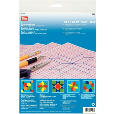 PRYM TEMPLATE SHEETS 611148
