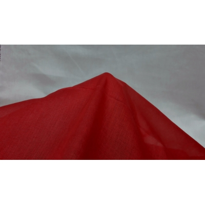 Red Cheesecloth Fabric- 100% Cotton