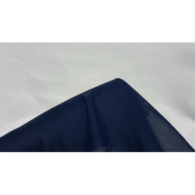 Navy Blue Cheesecloth Fabric- 100% Cotton