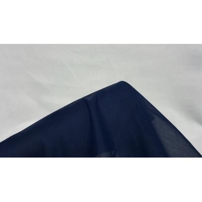 Tülbent Kumaş - % 100 Pamuk-Lacivert