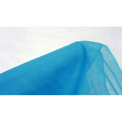 Turquoise Blue Cheesecloth Fabric- 100% Cotton