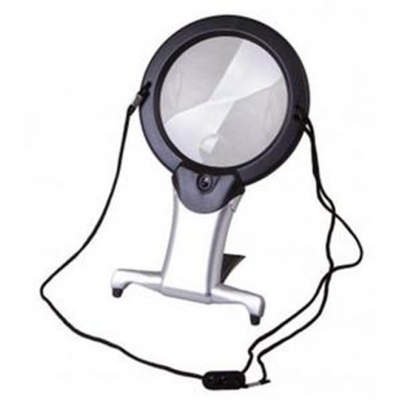 Magnifying Glass With Lighted Hanger U1386L