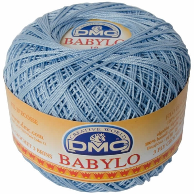 DMC BABYLO 10 NO THREAD COLOR:3840
