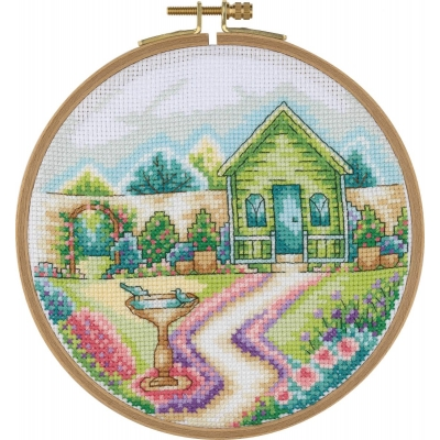 Tuva Cross Stitch Kit With Wooden Hoop BCS03