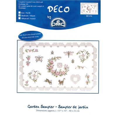 DMC CROSS-STITCH KIT BK1216