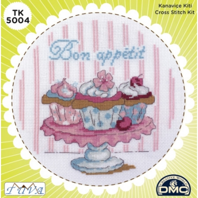 TUVA CROSS STITCH KIT 5004