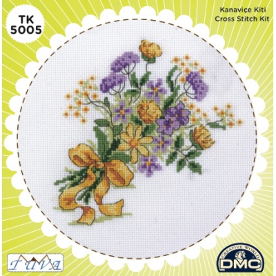 TUVA CROSS STITCH KIT 5005