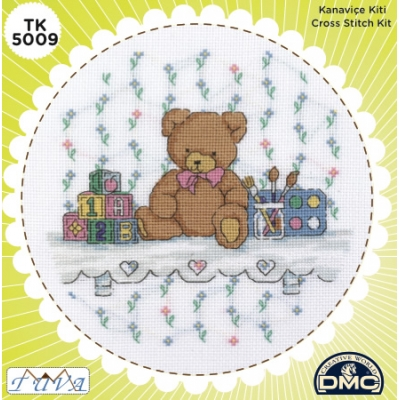 TUVA CROSS STITCH KIT 5009