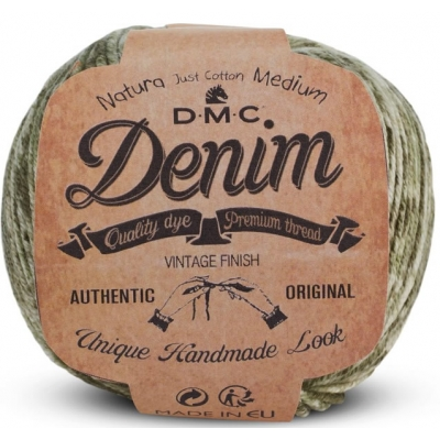 NATURA DMC MEDIUM DENIM COTTON THREAD 18