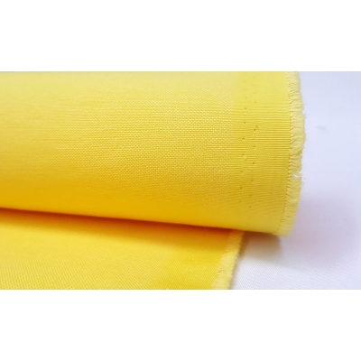 Cotton Duck Fabric Yellow Color