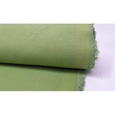Cotton Duck Fabric Green Color