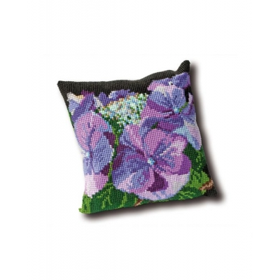 THEA GOUVERNEUR TAPESTRY CUSHION 023.4003 (HYDRANGEA)