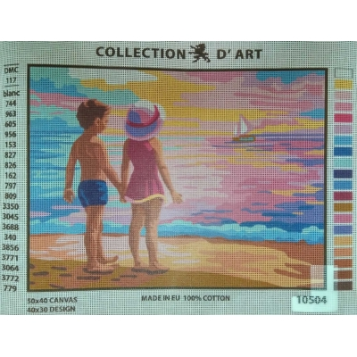 40x50 cm COLLECTION D'ART BASKILI GOBLEN 10504