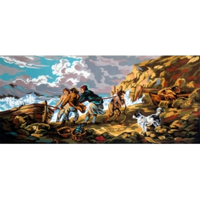 60x125 cm GOBELİN & DIAMANT PRINTED CANVAS 11395