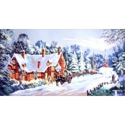 60x125 cm GOBELİN & DIAMANT PRINTED CANVAS 11391