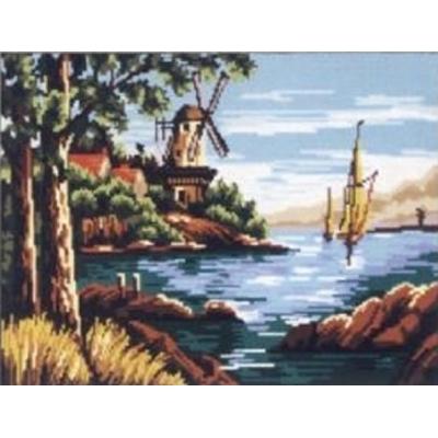 45x60 cm GOBELİN & DIAMANT BASKILI GOBLEN 14780