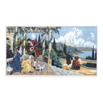 60x125 cm GOBELİN & DIAMANT PRINTED CANVAS B1235