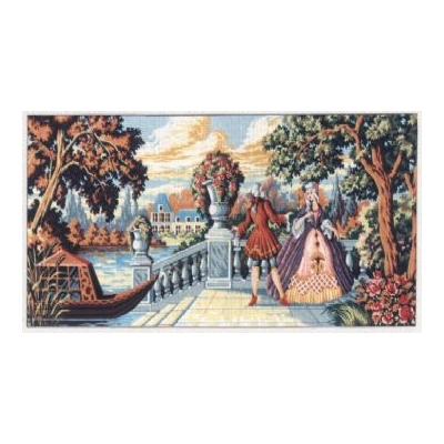 60x125 cm GOBELİN & DIAMANT PRINTED CANVAS B1290