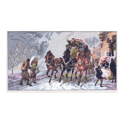 60x125 cm GOBELİN & DIAMANT PRINTED CANVAS B1305