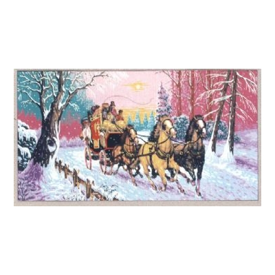 60x125 cm GOBELİN & DIAMANT PRINTED CANVAS B930