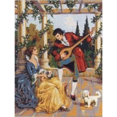 50x60 cm GOBELİN & DIAMANT PRINTED CANVAS D465