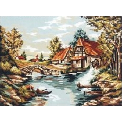 60x75 cm GOBELİN & DIAMANT PRINTED CANVAS 10522