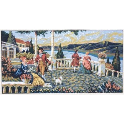 80x130 cm GOBELİN & DIAMANT PRINTED CANVAS A1010