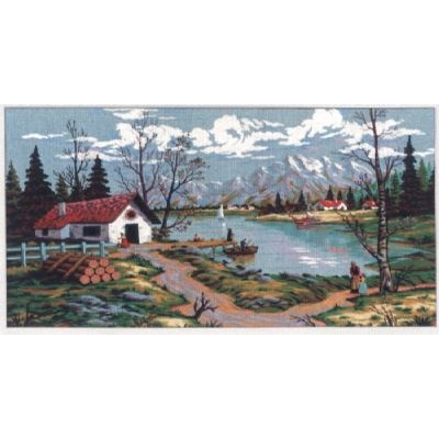 80x130 cm GOBELİN & DIAMANT PRINTED CANVAS A2020