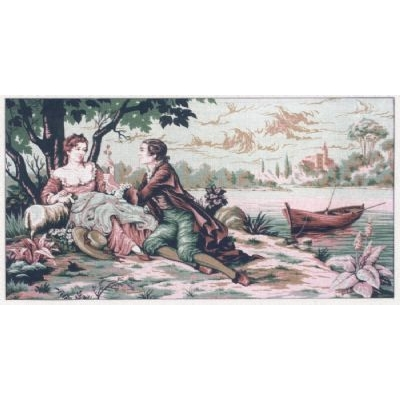 80x130 cm GOBELİN & DIAMANT PRINTED CANVAS A2040