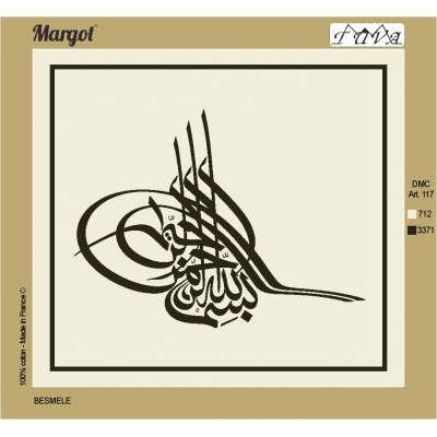 55X50 cm Margot PRINTED CANVAS 234369