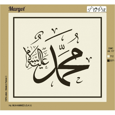 55X50 cm Margot PRINTED CANVAS 234367