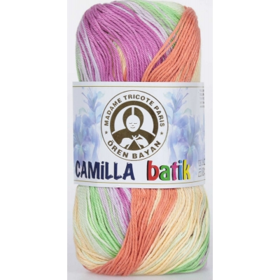 Oren Bayan Camilla Batik Mercerized(Cotton) Yarn 358-0100