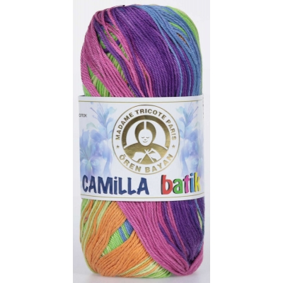 Oren Bayan Camilla Batik Mercerized(Cotton) Yarn 358-0106
