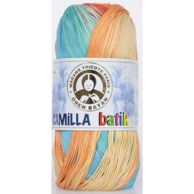 Oren Bayan Camilla Batik Mercerized(Cotton) Yarn 358-0107