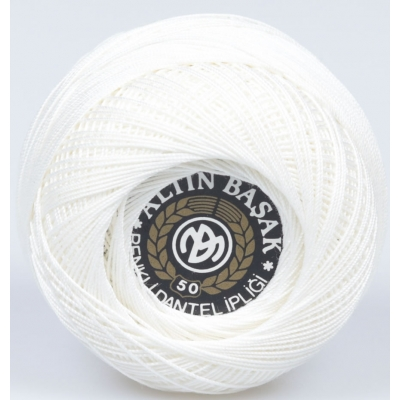 ALTINBASAK COLORFUL LACE YARN NO:50 26- KREM (20 gr)