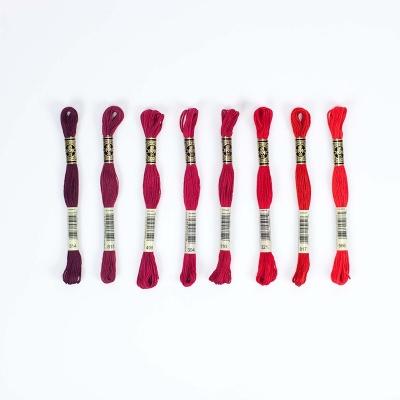 Dmc Muline İplik Seti - Kırmızı Renkler