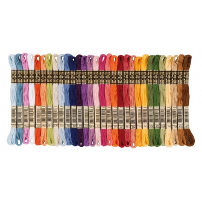 Dmc Muline Yarn Set - Mixed Colors 30