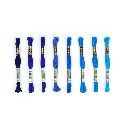 Dmc Muline İplik Seti - Mavi Renkler