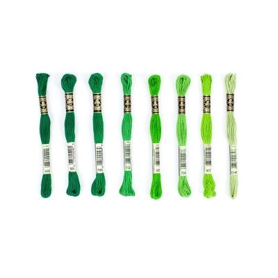 Dmc Muline İplik Seti - Yeşil Renkler