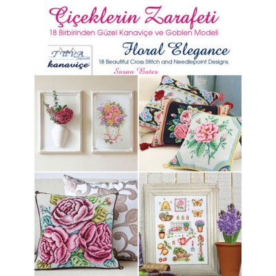 FLORAL ELEGANCE CROSS STITCH BOOK