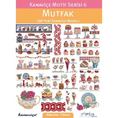 CROSS STITCH MOTIF SERIES 6: KITCHEN