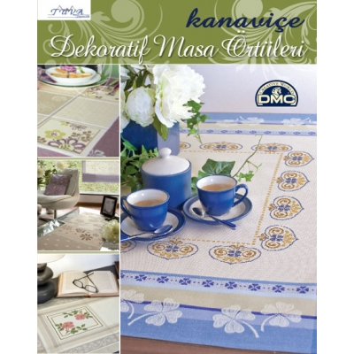 CROSS STITCH DECORATIVE TABLECLOTHS BOOK